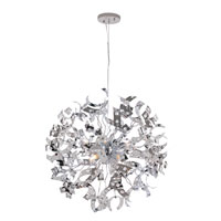 Trans Globe Lighting Modern Collection 8 Light Pendant in Polished Chrome MDN-965