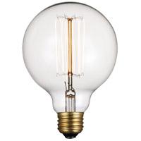 Trans Globe Lighting OC-R60CL Vintage Collection Incandescent A19 E26 60 watt 120V Bulb