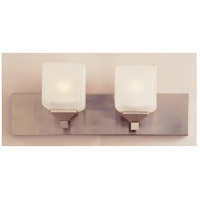 Trans Globe Lighting PL-2802-PW Edwards 2 Light 18 inch Pewter Vanity Bar Wall Light