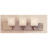 Edwards 3 Light 24 inch Pewter Vanity Bar Wall Light