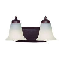 Trans Globe Morgan House 2 Light Bath Bar in Rubbed Oil Bronze PL-3502-ROB
