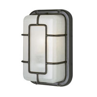 Trans Globe Lighting Energy Efficient Outdoor 1 Light Outdoor Wall Lantern in Black PL-41101-BK
