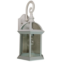 Wentworth II 1 Light 16 inch White Outdoor Wall Lantern