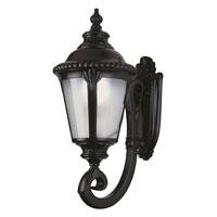 Trans Globe Lighting PL-5040-BK Stonebridge 1 Light 19 inch Black Outdoor Wall Lantern