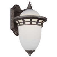 Trans Globe Lighting Energy Efficient 1 Light Outdoor Wall Lantern in Antique Pewter PL-5111-AP