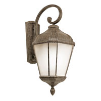 Trans Globe Signature 1 Light Outdoor Wall Lantern in Burnished Rust PL-5152-BRT