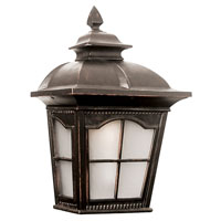 Trans Globe Chesapeake 1 Light Outdoor Pocket Lantern in Antique Rust PL-5429-1-AR