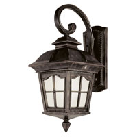 Trans Globe Lighting Energy Efficient 1 Light Outdoor Wall Lantern in Antique Rust PL-5429-AR