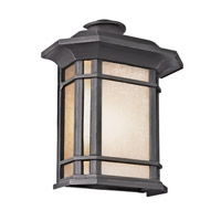 Corner Window 1 Light 12 inch Black Outdoor Pocket Lantern