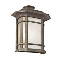 Trans Globe Lighting Energy Efficient Outdoor 1 Light Outdoor Pocket Light in Rust PL-5821-1-RT