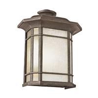 Trans Globe Lighting PL-5822-1-RT Corner Window 1 Light 15 inch Rust Outdoor Pocket Lantern