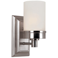 Fusion 1 Light 4 inch Brushed Nickel Wall Sconce Wall Light