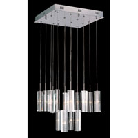 Trans Globe Lighting Modern 16 Light Pendant in Polished Chrome PND-187