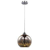 Mining 1 Light 10 inch Polished Chrome Pendant Ceiling Light