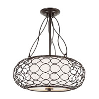 Trans Globe Lighting Signature 2 Light Pendant in Brown PND-820