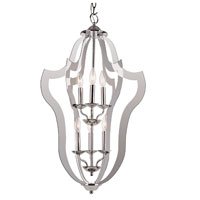 Trans Globe Lighting Signature 4 Light Pendant in Polished Chrome PND-841