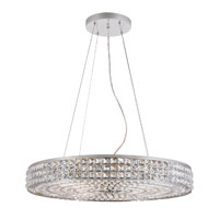 Trans Globe Lighting Contemporary Crystal 14 Light Pendant in Polished Chrome PND-919 photo thumbnail