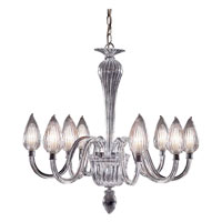 Trans Globe Lighting Versailles 8 Light Chandelier in Chrome RODAS-8-SL photo thumbnail