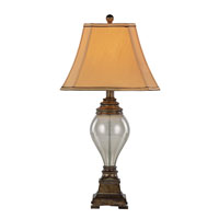 Rustic Lamps 31 inch 60 watt Walnut Table Lamp Portable Light