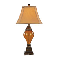 Trans Globe Mercury & Glass Lamps 1 Light Table Lamp in Walnut RTL-8788