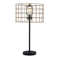 Trans Globe Retro Lamps 1 Light Table Lamp in Bronze RTL-8879
