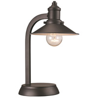 Liberty 13 inch 60 watt Rubbed Oil Bronze Table Lamp Portable Light