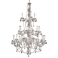 Trans Globe Lighting Versailles 21 Light Chandelier in Silver VIC-21-SL photo thumbnail