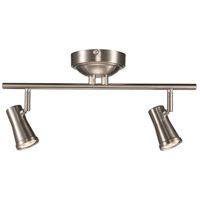 Robbins 1 Light 120V Brushed Nickel Track Light Ceiling Light