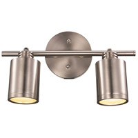 Holdrege 2 Light 120V Brushed Nickel Track Light Ceiling Light