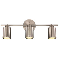 Holdrege 3 Light 120V Brushed Nickel Track Light Ceiling Light
