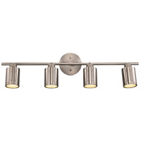 Holdrege 4 Light 120V Brushed Nickel Track Light Ceiling Light
