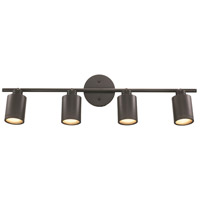 Holdrege 4 Light 120V Rubbed Oil Bronze Track Light Ceiling Light