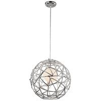 Trans Globe Lighting PND-967 Space 1 Light 16 inch Polished Chrome Pendant Ceiling Light