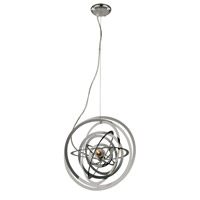 Trans Globe Tangled Nebula 1 Light Pendant in Polished Chrome PND-978