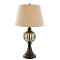 Trans Globe Signature 1 Light Table Lamp in Antique Copper RTL-8862
