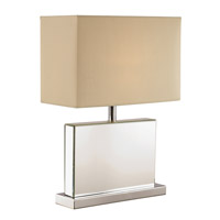 Trans Globe Contemporary Lamps 1 Light Table Lamp in Polished Chrome RTL-8864