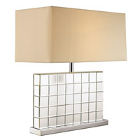 Contemporary Lamps 26 inch 100 watt Polished Chrome Table Lamp Portable Light