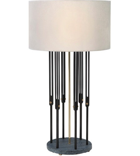 Theodore Alexander 2011-011 Fasten 36 inch Brass Table Lamp Portable Light photo