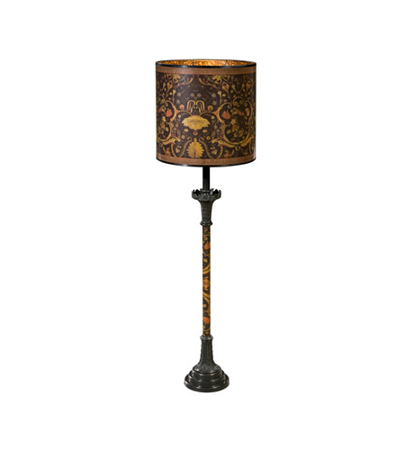 Theodore Alexander Bronze Table Lamps