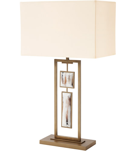 Theodore Alexander 2021-949 Sway 32 inch Aged Brass Table Lamp Portable Light photo