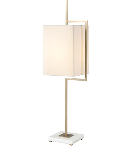 Theodore Alexander 2021-951 Diversion 42 inch Vintage Brass Table Lamp Portable Light photo