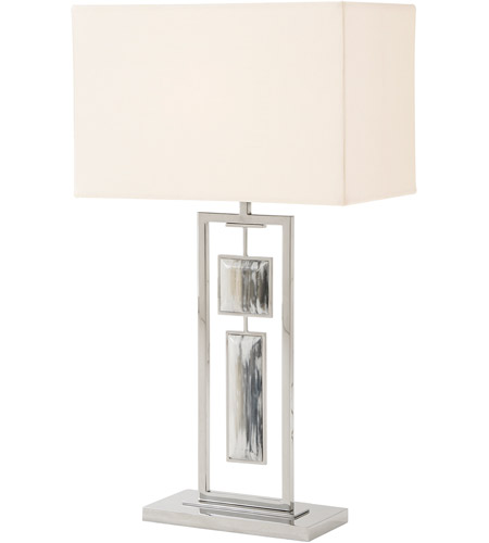 Theodore Alexander 2029-116 Sway 32 inch Stainless Table Lamp Portable Light photo