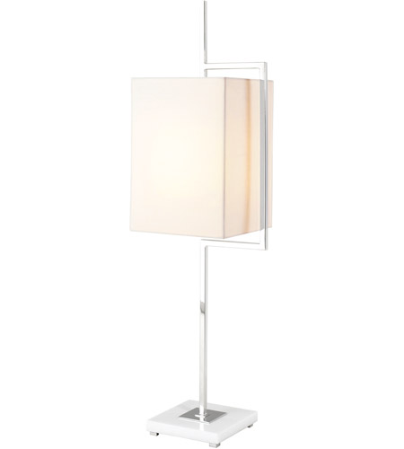 Theodore Alexander 2029-117 Diversion 42 inch Stainless Table Lamp Portable Light photo