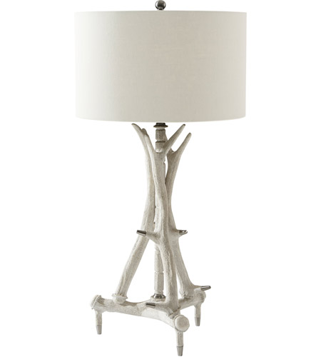 Theodore Alexander 2042-011 Exmow 38 inch Limewash Table Lamp Portable Light photo