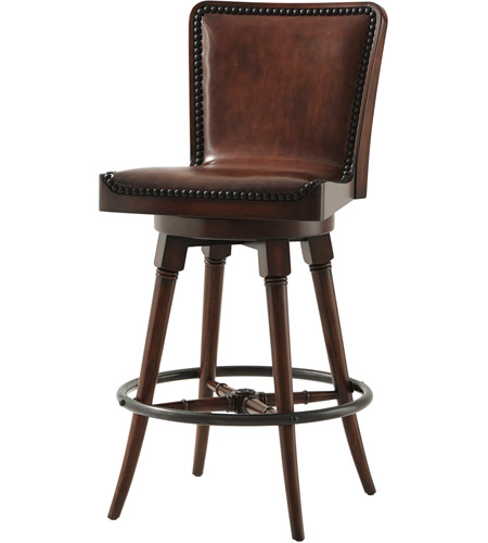 Theodore Alexander 4200-100.2ACZ Simple Pleasures 42 inch Bar Chair photo