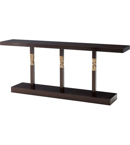 Theodore Alexander 5305 319 Erno 80 Inch Espresso Console Table