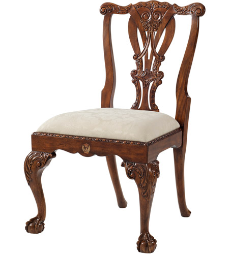 Theodore Alexander Al40077 1afj Crested Dining Chair Photo