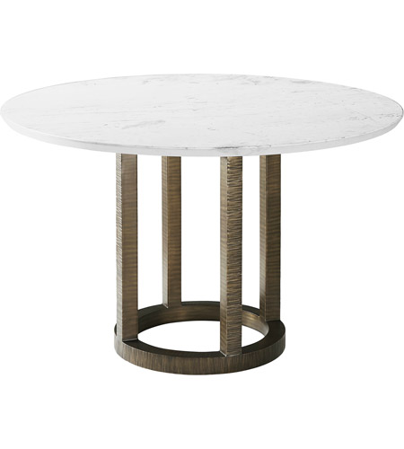 Califolio 48 X Inch Foundry Dining Table, 48 Round Marble Table Top