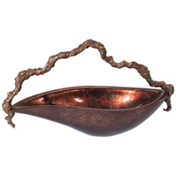 Theodore Alexander Vanucci Eclectics Coastal Sunset Bowl in Copper 1002-172