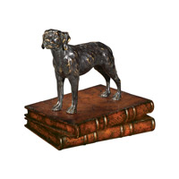Theodore Alexander Dogs The Biddable Hound Table Top Accessory in Medium Brown 1023-016